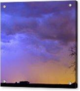 Colorful C2c Lightning Country Landscape Acrylic Print