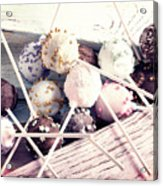 Colorful Cake Pops 3 Acrylic Print