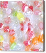 Colorful Candies Acrylic Print