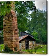Colorful Chimney Acrylic Print