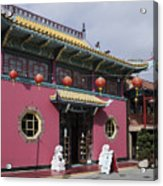 Colorful Chinatown_2 Acrylic Print
