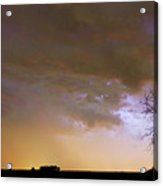 Colorful Colorado Cloud To Cloud Lightning Striking Acrylic Print by James BO  Insogna