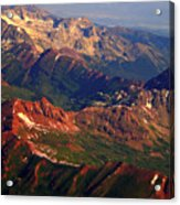 Colorful Colorado Planet Earth Acrylic Print