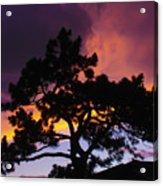 Colorful Colorado Sunset Acrylic Print