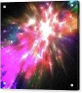 Colorful Cosmos Acrylic Print