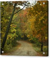 Colorful Country Acrylic Print