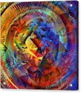 Colorful Crash 10 Acrylic Print