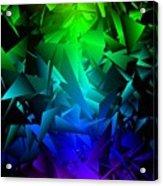 Colorful Crash 6 Acrylic Print