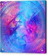Colorful Crash 7 Acrylic Print