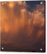Painting With Clouds, Part 3 Acrylic Print