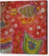Colorful Deep Sea Acrylic Print