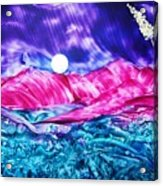 Colorful Desert Acrylic Print