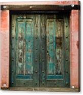 Colorful Doors Antigua Guatemala Acrylic Print
