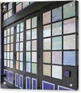 Colorful Doors Acrylic Print