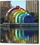 Colorful Downtown Orlando Acrylic Print