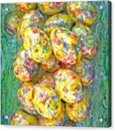 Colorful Eggs Acrylic Print by Carl Deaville
