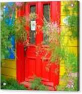 Colorful Entrance ... Acrylic Print