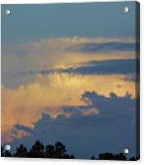 Colorful Evening Sky Acrylic Print