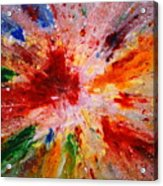 Colorful Expression-9 Acrylic Print