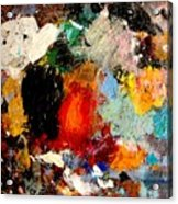 Colorful Expressions Acrylic Print