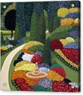 Colorful Garden Acrylic Print
