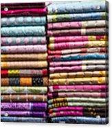 Colorful Garment Acrylic Print