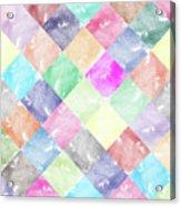 Colorful Geometric Patterns IIi Acrylic Print