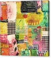 Colorful Geometric Acrylic Print