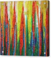Colorful Grace Acrylic Print