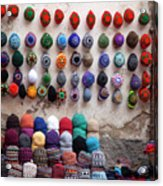 Colorful Hats Acrylic Print