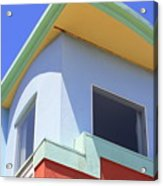 Colorful House In San Francisco Acrylic Print