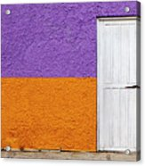 Colorful In Negril Acrylic Print
