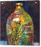 Colorful Jug Acrylic Print