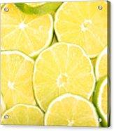 Colorful Limes Acrylic Print