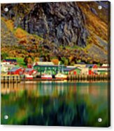 Colorful Lofoten, Norway Acrylic Print