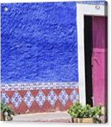 Colorful Mexico Acrylic Print