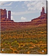 Colorful Monument Valley Acrylic Print