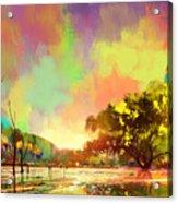 Colorful Natural Acrylic Print