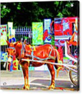 Colorful New Orleans Acrylic Print