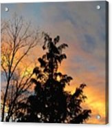 Colorful Nightfall Acrylic Print