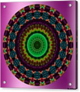 Colorful No. 4 Mandala Acrylic Print