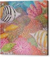 Colorful Ocean Acrylic Print