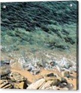 Colorful Pacific Ocean Acrylic Print