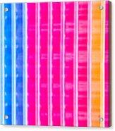 Colorful Plastic Acrylic Print