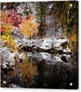 Colorful Pond Acrylic Print