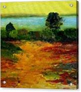 Colorful Prairie Acrylic Print