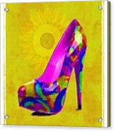Colorful Pump Acrylic Print