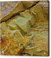 Colorful Rocks Acrylic Print