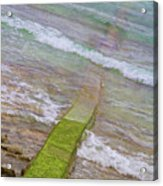 Colorful Seawall Acrylic Print