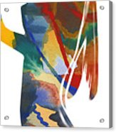 Colorful Shape Acrylic Print